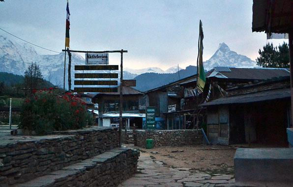 dhampus village trek