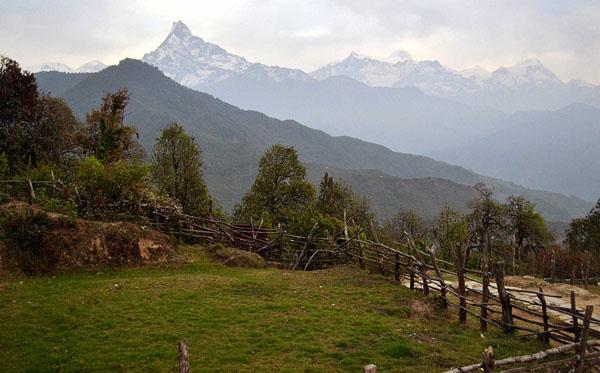 trekking to dhampus