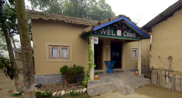 A homestay in Amaltari village in Chitwan