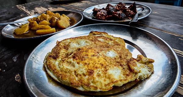 Aanda Bara, Newari Food