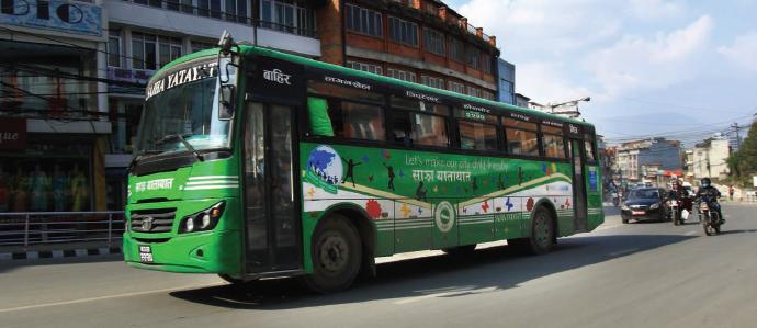Sajha Bus Kathmandu