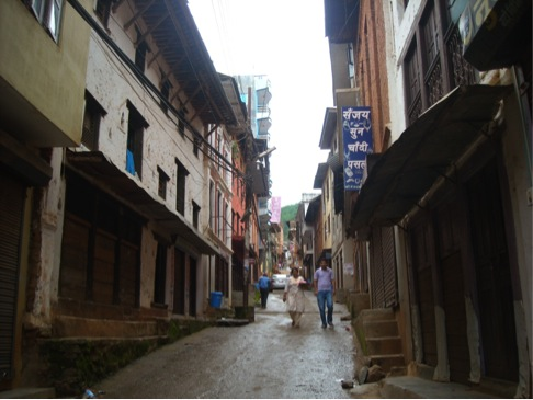 Ason Tole is identical name for one of the busiest town in Kathmandu.