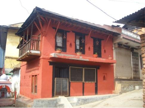 Traditional Newari Red Brick House of Tansen