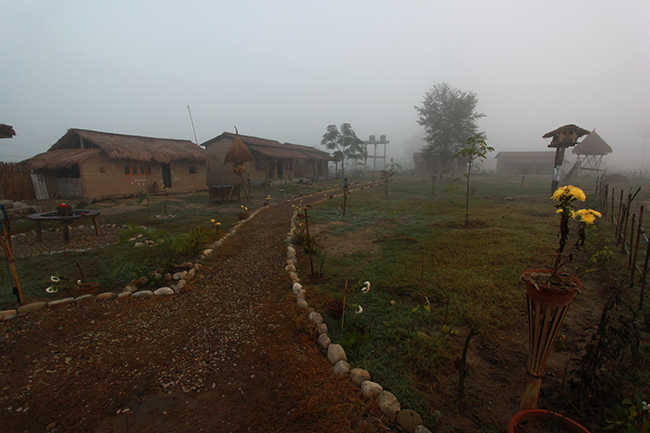 Tharu Community Homestay at the dawn