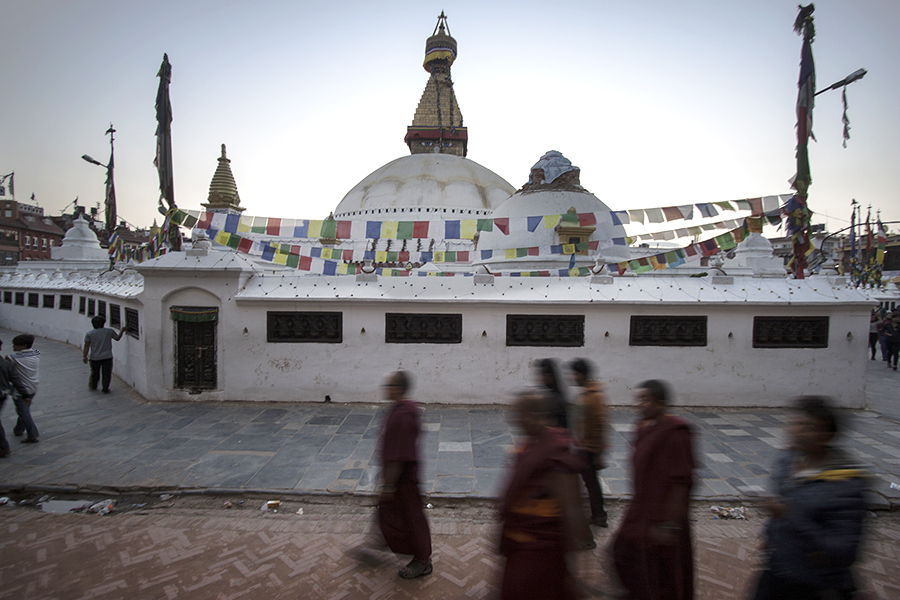BoudhaNath Nepal Earthquake