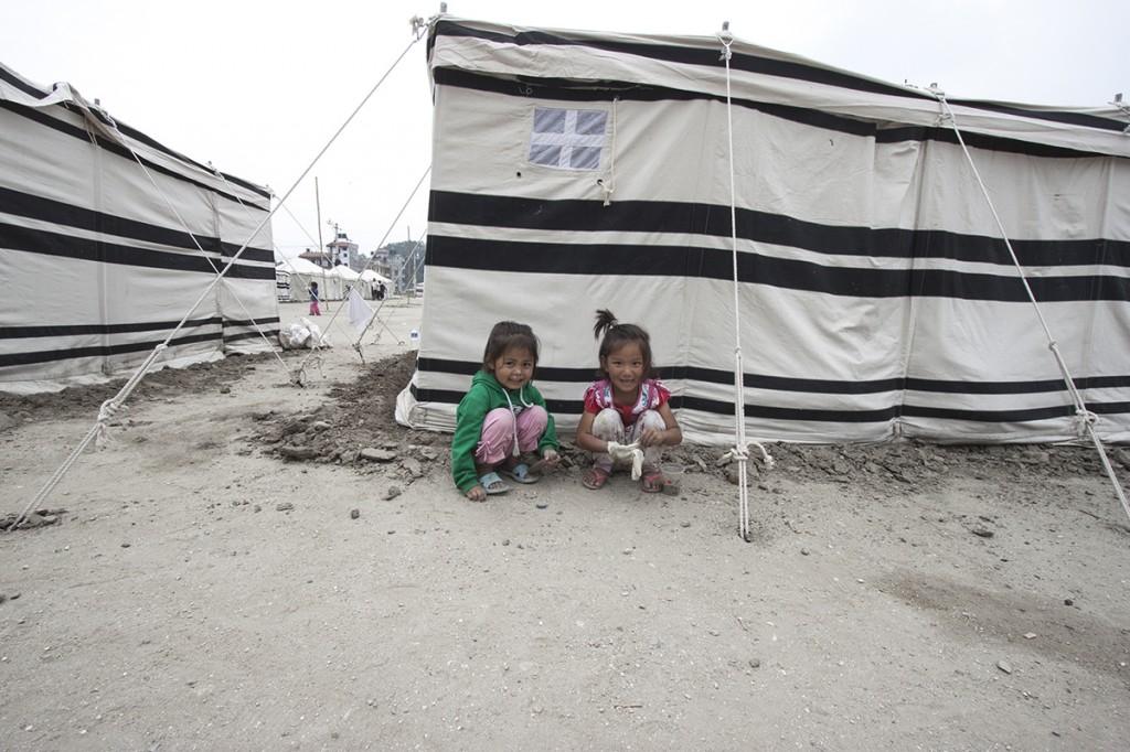 Nepal Earthquake Tent
