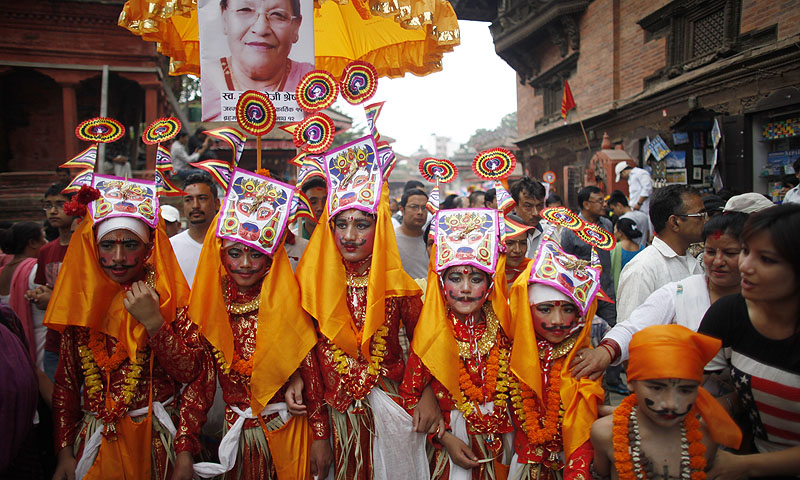 Image result for Bhaktapur Gaijatra