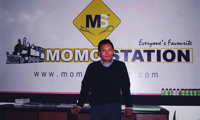 Resam Lama, CEO of Momo Station