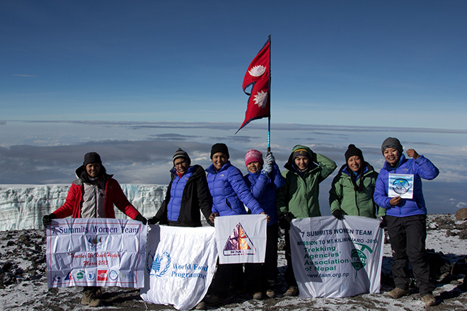 Queens of Seven Summits; Heroes are back home