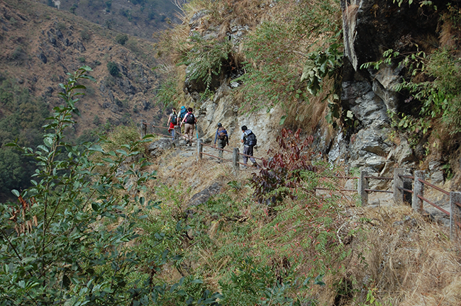 Tourists from 120 countries visited the Annapurna Circuit Trek in 2014
