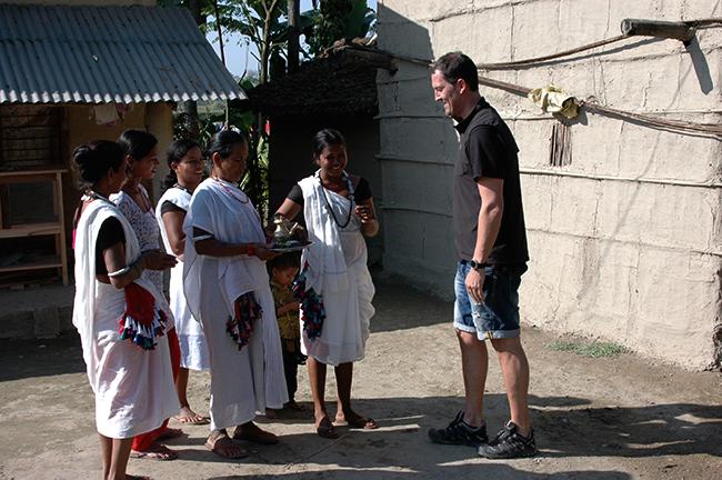 Tourist in Chitwan