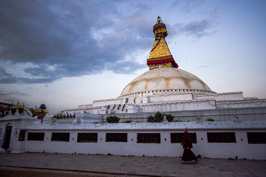 Nepal Earthquake Boudhanath