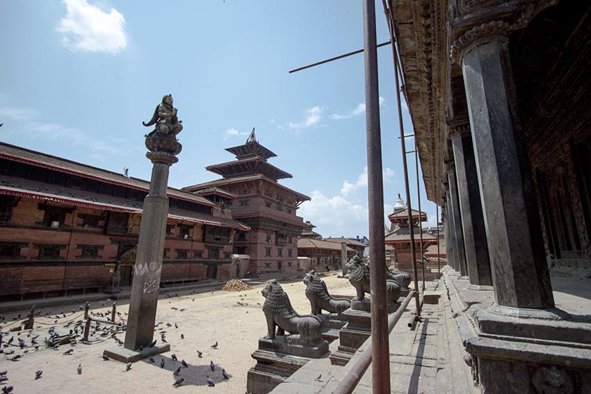 Patan Durbar Square Reopens
