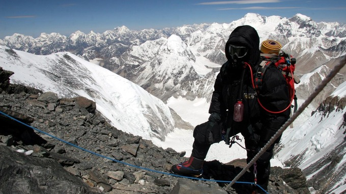 Tim Mosedale leads expeditions up Everest in Nepal Credit: Tim Mosedale
